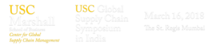USC Global Supply Chain Symposium